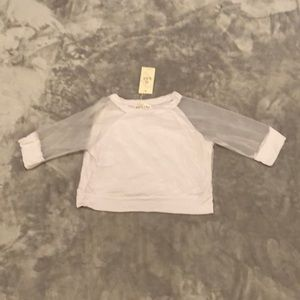 Tops - NWT White crop top Size S